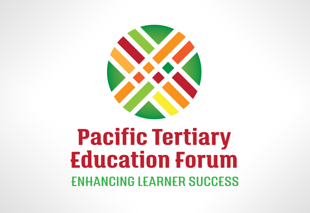 Logo graphic design by Two Sparrows for PTE Forum